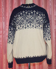 DALE of NORWAY  ♦ Pullover, gefüttert ♦ Gr. M ♦*TOP*♦ reine SCHURWOLLE ♦ OUTDOOR