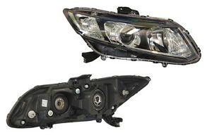 Honda Civic FB  4/2012 - Onwards  Projector Headlight Right side - New