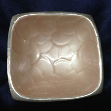 "JULIA KNIGHT CLASSIC PETITE PETAL PINK BOWL 3 3/4"" HANDMADE SAND CAST ALUMINUM"