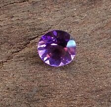 ROUND CUT SHAPE NATURAL AMETHYST 5MM FACETED LOOSE GEMSTONE