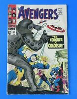 THE AVENGERS #37 ~ 1967 MARVEL SILVER AGE COMIC ~ LAST PAGE MISSING ~ VG