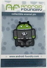 SUPERUSER! COLLECTIBLE ENAMEL LAPEL PIN ANDREW BELL ANDROID FOUNDRY
