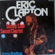 """7"""" 1975 MINT- ! ERIC CLAPTON : Swing Low Sweet Chariot"""