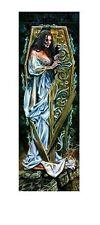 ALCHEMY GOTHIC ~ DARK AWAKENING DOOR 21x62 FANTASY ART POSTER Coffin Vampire