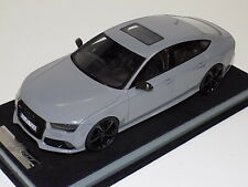 1/18 MotorHelix Audi RS7  in Nardo Grey with Black Wheels