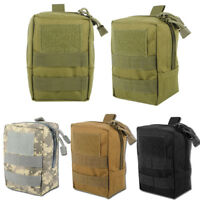 Molle Tactical Pouch Military Compact EDC Waist Bag Pack Small Gadget Backpack