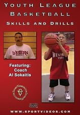 Youth League Basketball Skills and Drills DVD - Over 100 minutes of instruction!