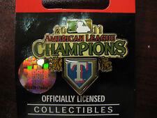 2011 World Series AL Champs Pin - Texas Rangers