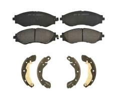 Fits 2004-2011 Chevrolet Aveo & 07-11 Aveo5 Front Ceramic Pads & Brake Shoes