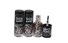 3 x Maybelline Color Show All Access Nail Polish Topcoat 7ml | Broadway Lights