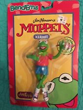 """New Jim Henson's Muppets """"Kermit The Frog� Bend-Ems By Justoys"""