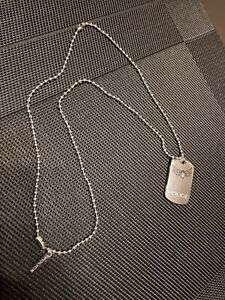 Police Men Stainless Steel Pendant Necklace