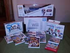 Wii Sports Console with games like Star Wars,U Draw. Slightly used condition