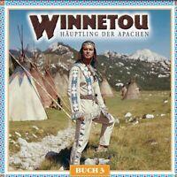 "KARL MAY ""WINNETOU BUCH 3"" 2 CD HÖRSPIEL NEW!!"