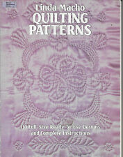 """New ListingLinda Macho's """"Quilting Patterns"""" -110 Full Size Patterns With Instructions (2)"""