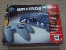 BOXED NINTENDO 64 CONSOLE + Game !  -  Nintendo 64 N64 Item