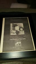 Linda Ronstadt When You Wish Upon A Star Rare Original Promo Poster Ad Framed!