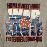 Auburn Tigers T-Shirt Home Sweet Home Jordan Hare Stadium Tee Color Grey - NWT