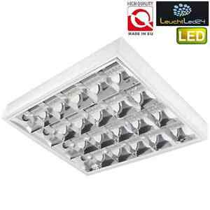 *NEU* SUPER LED Rasterleuchten geeignet für 4X T8 LED 9W Bürolampe Rasterlampe
