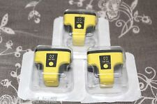 HP 02 Ink Cartridge Lot 3 OEM Genuine Yellow New Expired Factory Sealed CB282W