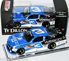 "2014 CHEVY CAMARO NNS NASCAR #3  "" WESCO "" Ty Dillon - 1:64 Lionel"