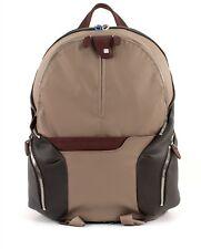 Piquadro mochila Coleos Expandable laptop backpack Tortora