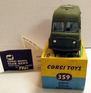 Corgi Toys 359 Army Field Kitchen,     original