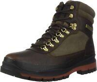 Timberland Mens Field Trekker Waterproof Dark Brown Green Chukka Boot 9.5M