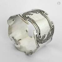Decorative Antique SILVER PLATE NAPKIN RING