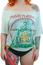 Vintage Iron Maiden Shirt 1984 Aces High Concert shirt Band Tee Paper Thin Rare
