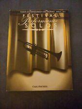 Festival Performance Solos, Volume 1 & 2 - Trumpet part - Carl Fischer Edition