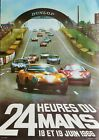 "Reproduction ""Le Mans 1966"" Poster, Home Wall Art, Vintage Print, Motor Racing"