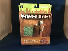 NEW Minecraft Skeleton in Leather Armor Action Figure Series 3