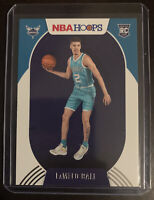 2020-21 NBA HOOPS LAMELO BALL BASE ROOKIE RC GEM CHARLOTTE HORNETS 3RD PICK🔥📈