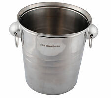 Personalised Engraved Stainless Steel Ice Bucket Cooler Wine Champagne Party