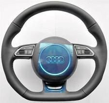 New 2016 Audi S Line A6 S6 RS6 A7 S7 RS7 A8 S8 Flat Bottom Sports steering wheel