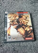 Metal Gear Solid 4: Guns of the Patriots - Limited Edition - Brand New