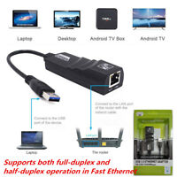 USB 3.0 10/100/1000 Mbps Ethernet LAN Network Adapter Fit for PC Android TV Box