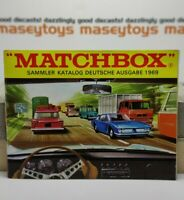 MATCHBOX LESNEY 1969 Collector's Catalogue GERMAN version MINT First Edition