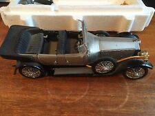 Franklin Mint 1/24 Scale 1925 Rolls-Royce Silver Ghost - Boxed For Restoration