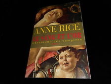 Anne Rice : Le sang et l'or Editions GF Plon