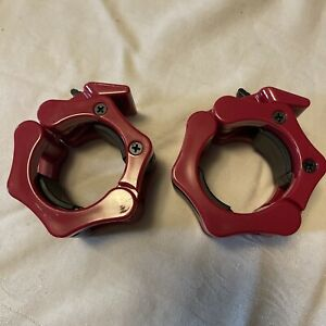 Ref Lock-Jaw Olympic Barbell Collars (pair) New Without Packaging