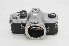 Pentax MX SLR Film Camera Body Chrome                                       #544