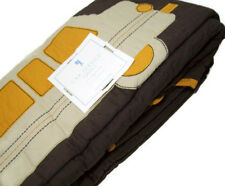 Pottery Barn Kids Multi Colors Brown Car Service Cars Full Queen Quilt 2 Shams