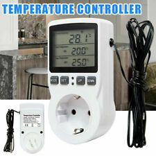 Digitaler Steckdosenthermostat Thermostat Steckdose Innenthermostat Stecker EU