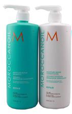 Moroccanoil Moisture Repair Shampoo and Conditioner 33.8oz (1L)  *FREE Shipping*