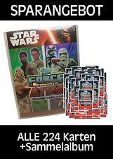 Force Attax Movie 4 - Komplettsatz ALLE 224 Karten+Sammelalbum
