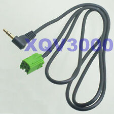 3.5mm elbow Input Audio Cable Aux ~ Renault radio after 2005 CD MP3 4FT