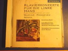 Klavierkonzerte für die linke Hand Martinu Prokofiev Nowka Siegfried Rapp Neu