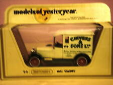 Matchbox Models of Yesteryear Y-5 1927 Talbot White